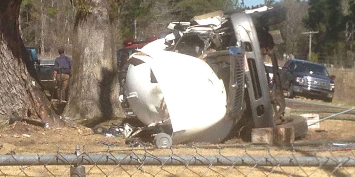 UPDATE: Roads open following fatal propane truck accident