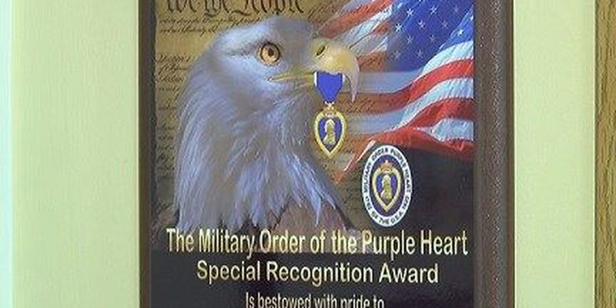 "USM designated ""Purple Heart University"" for helping wounded vets"