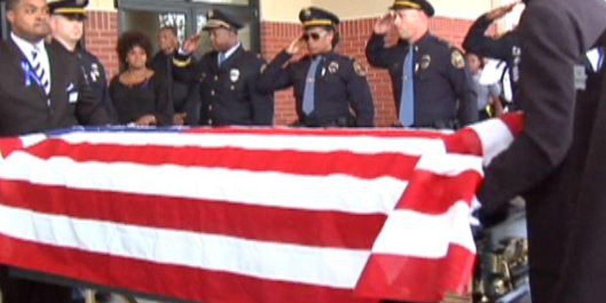 Hundreds gather to bid farewell to Officer Liquori Tate