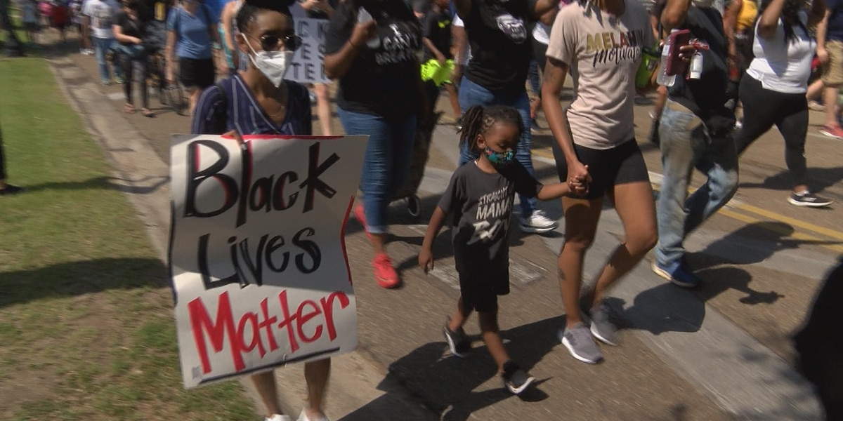 Hattiesburg march participants speak out about racial justice