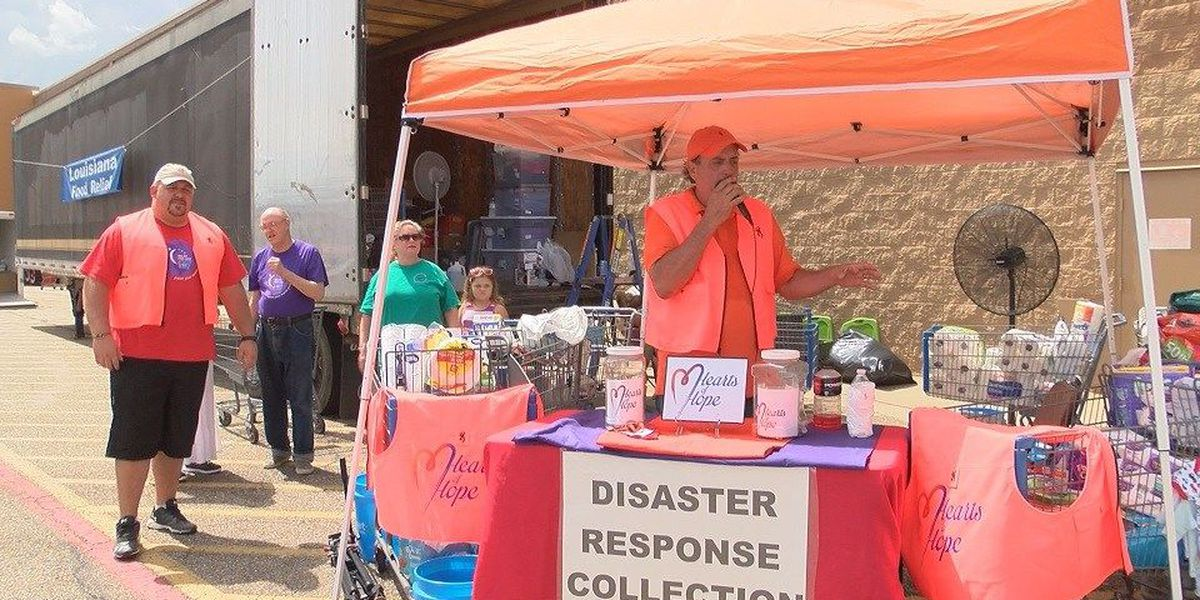 Hearts of Hope gathers supplies for flood victims