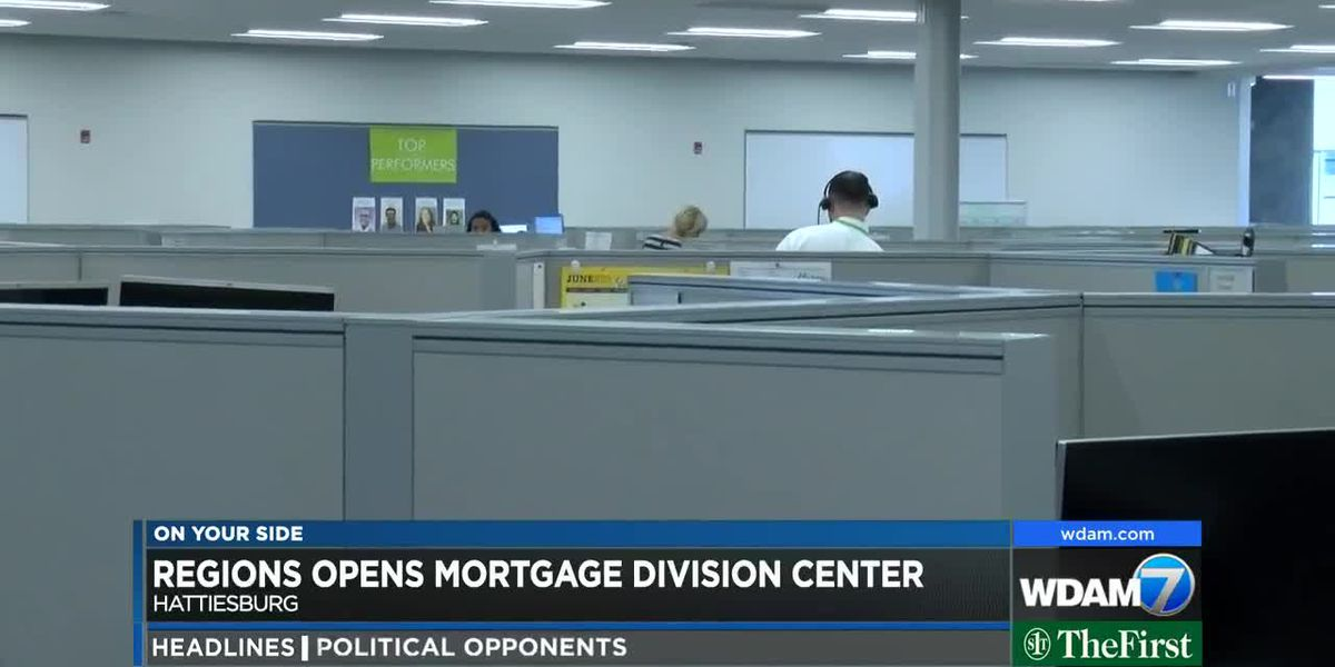 Regions opens mortgage division facility in Hattiesburg
