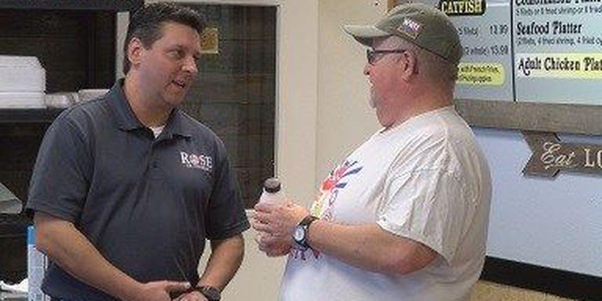 Palazzo challenger Rose campaigns in Pine Belt
