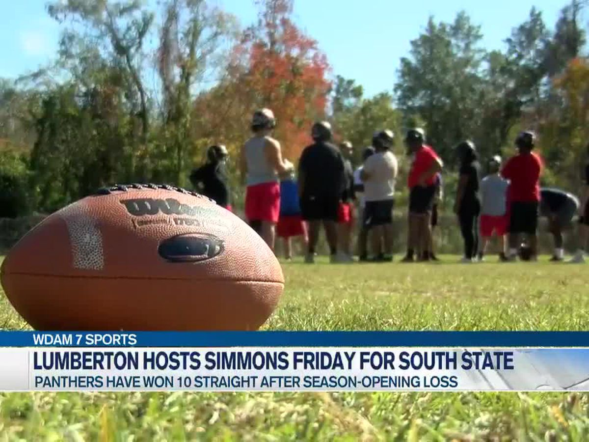 "Lumberton welcomes Simmons to ""The Pit"" for South State"
