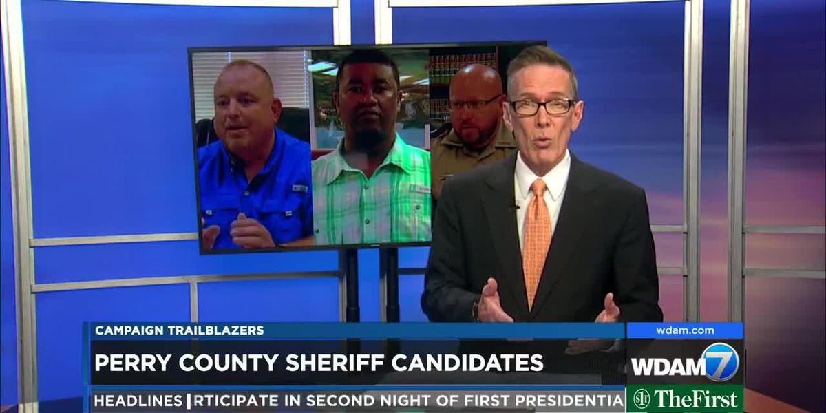 Campaign Trailblazers 2019: Perry County Sheriff candidates