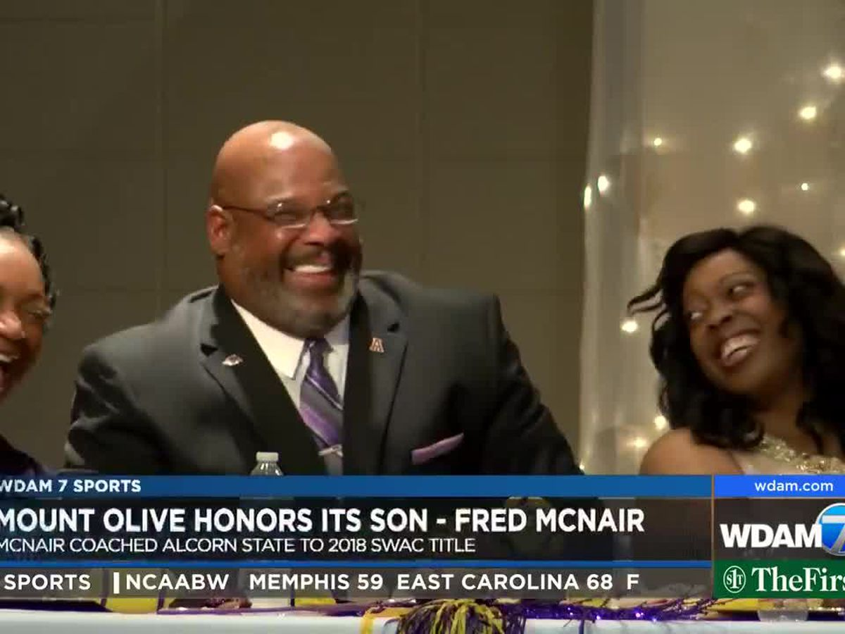 Fred McNair honored in Mount Olive