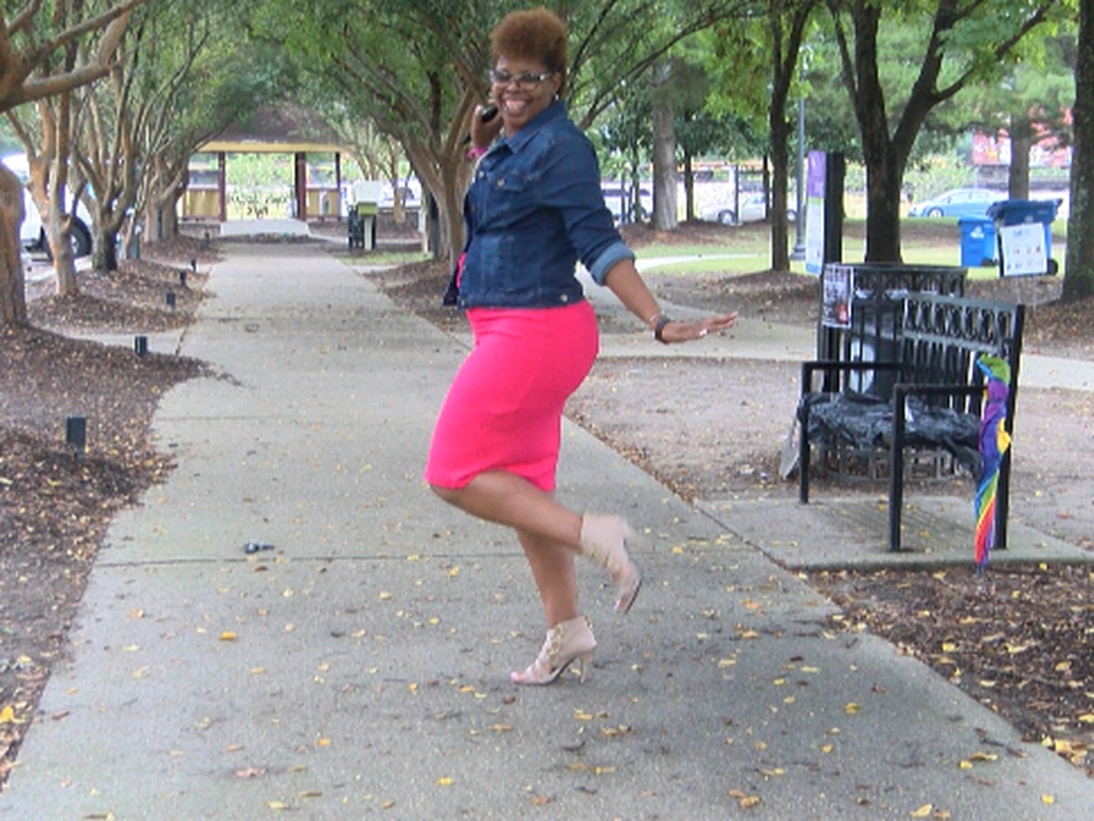 PINK UP: Hattiesburg woman encourages others not to give up