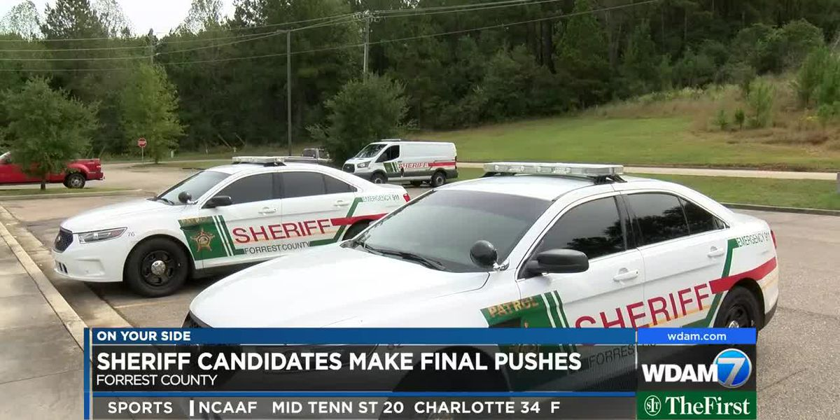 Forrest County Sheriff's candidates make final pushes
