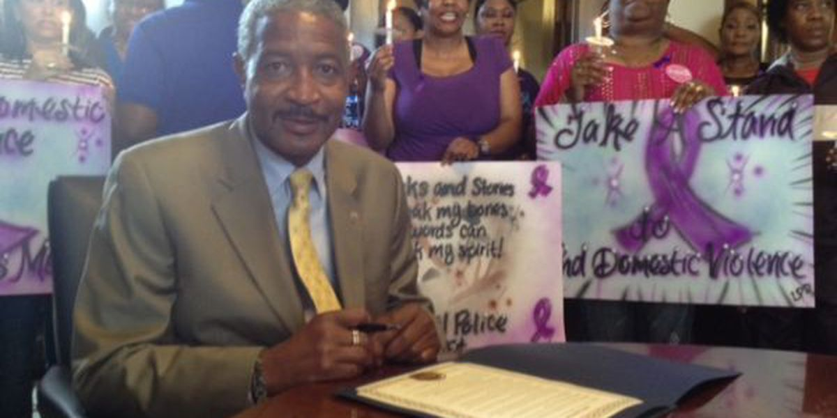 Laurel declares October as Domestic Violence Awareness month