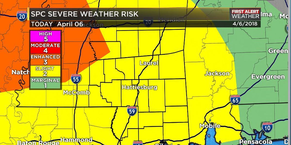 First Alert: Severe weather possible overnight