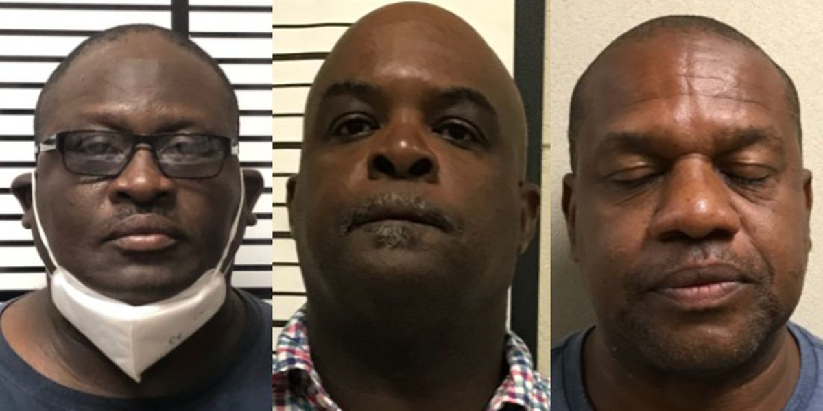 Three arrested in fraud, embezzlement investigation in Jones County