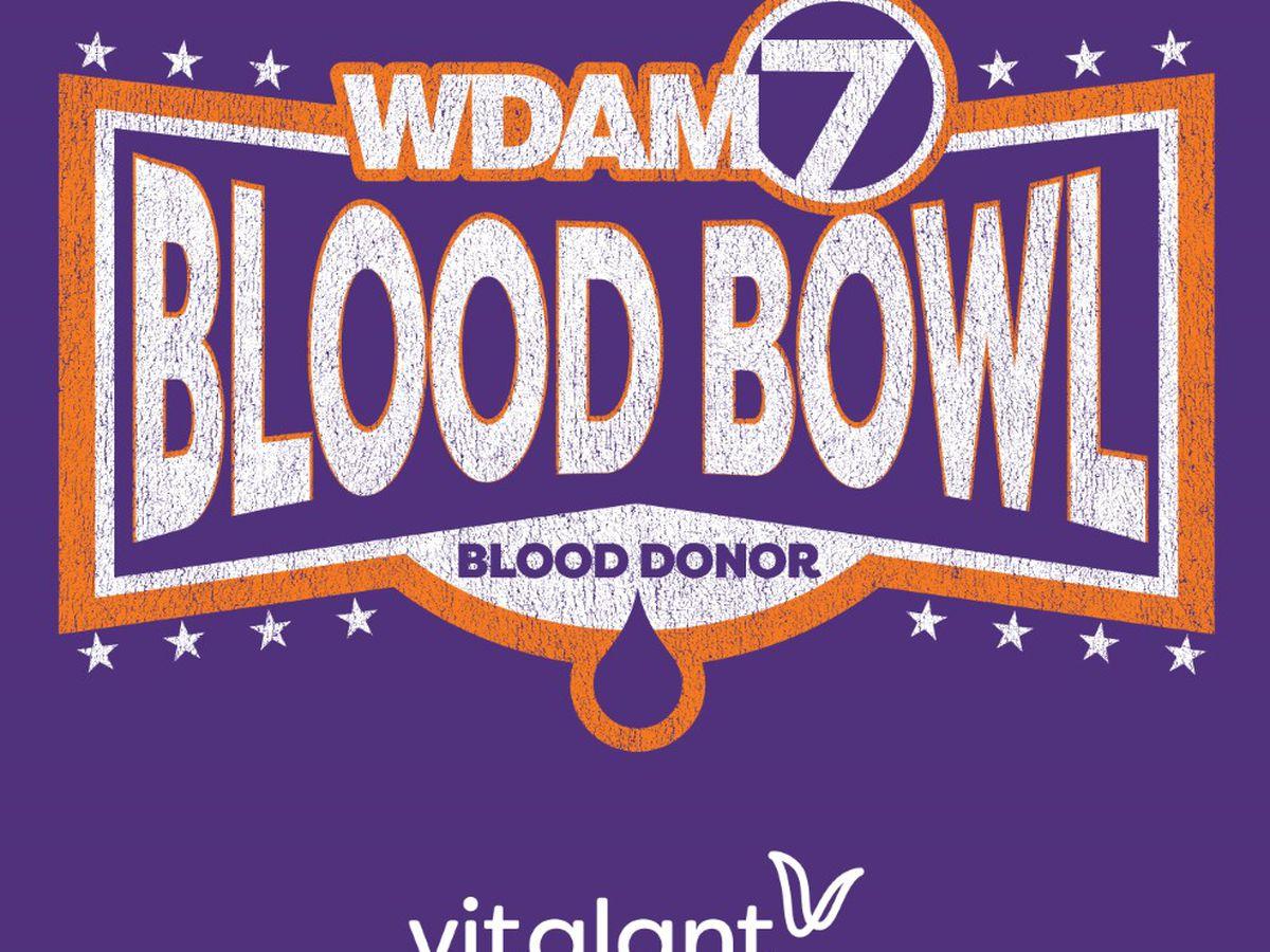 "Vitalant, WDAM to host annual ""Blood Bowl"" drive"
