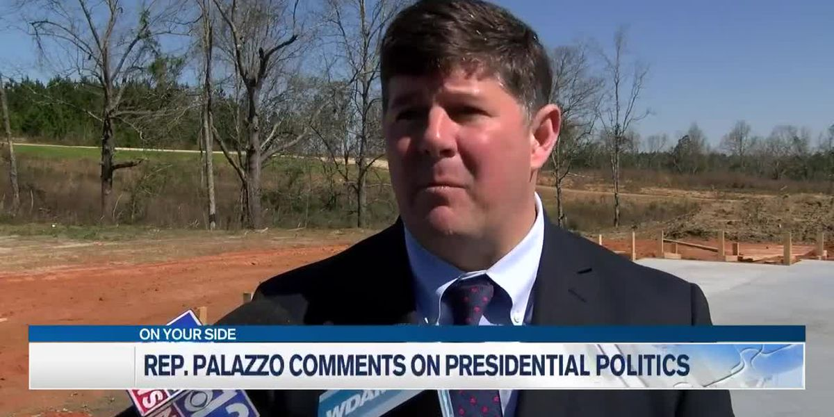 Rep. Palazzo comments on presidential politics