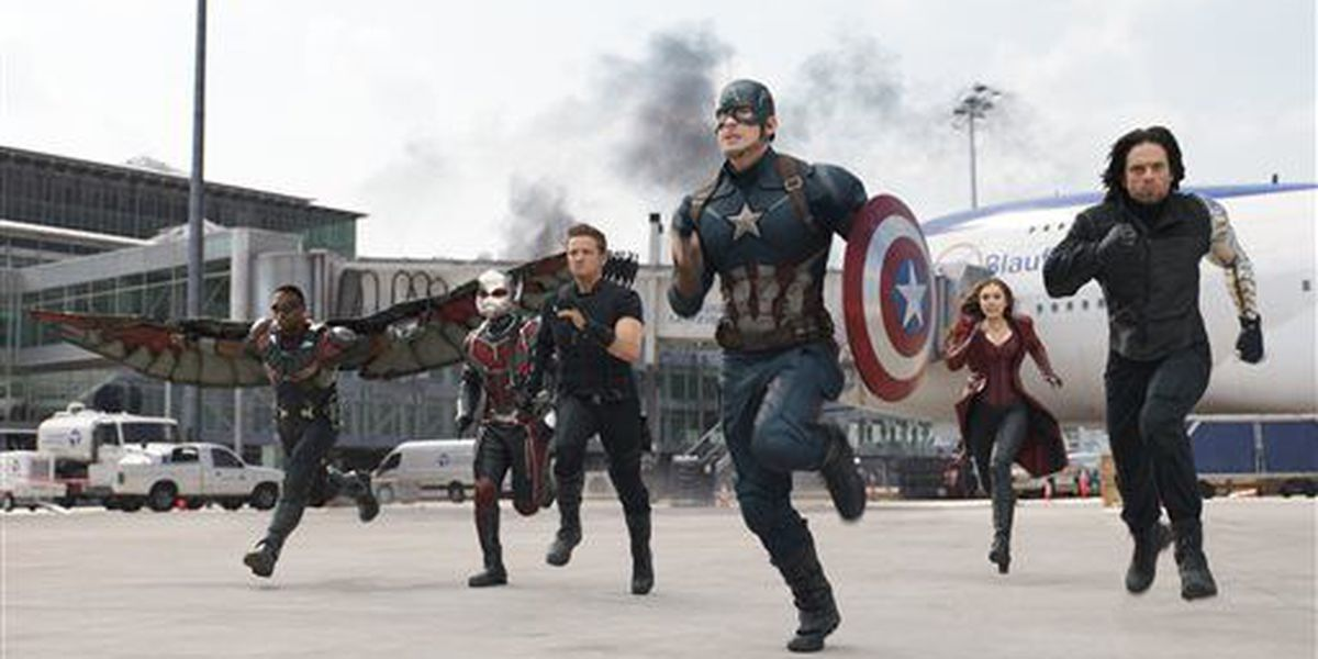 'Captain America' tops box office for second weekend