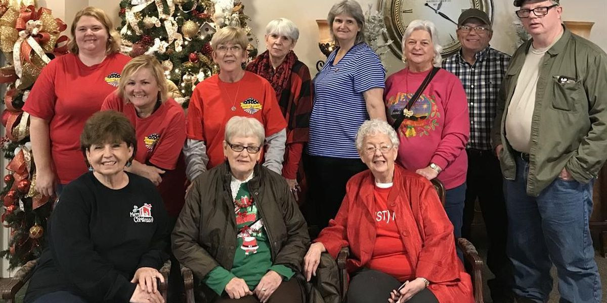 Socks for Heroes, Strong Hope Baptist deliver gifts to Collins veterans