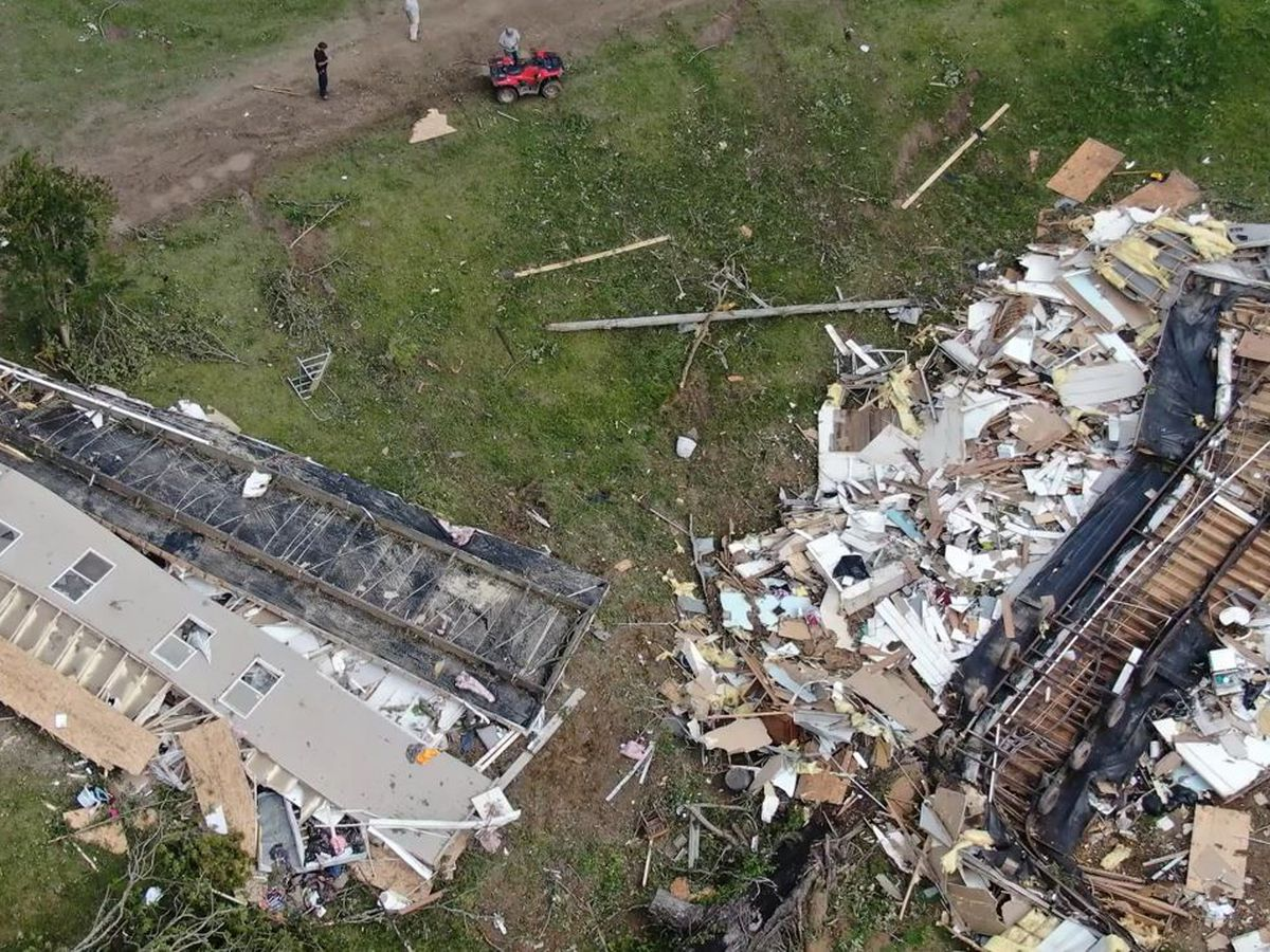 13 tornadoes touch down in Miss. during Sunday storms, NWS says