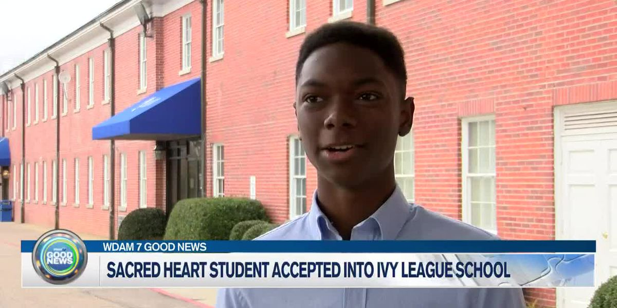 Sacred Heart student accepted into Ivy League school