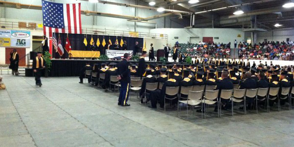 National Guard hosts graduation for Class 42 of Youth Challenge