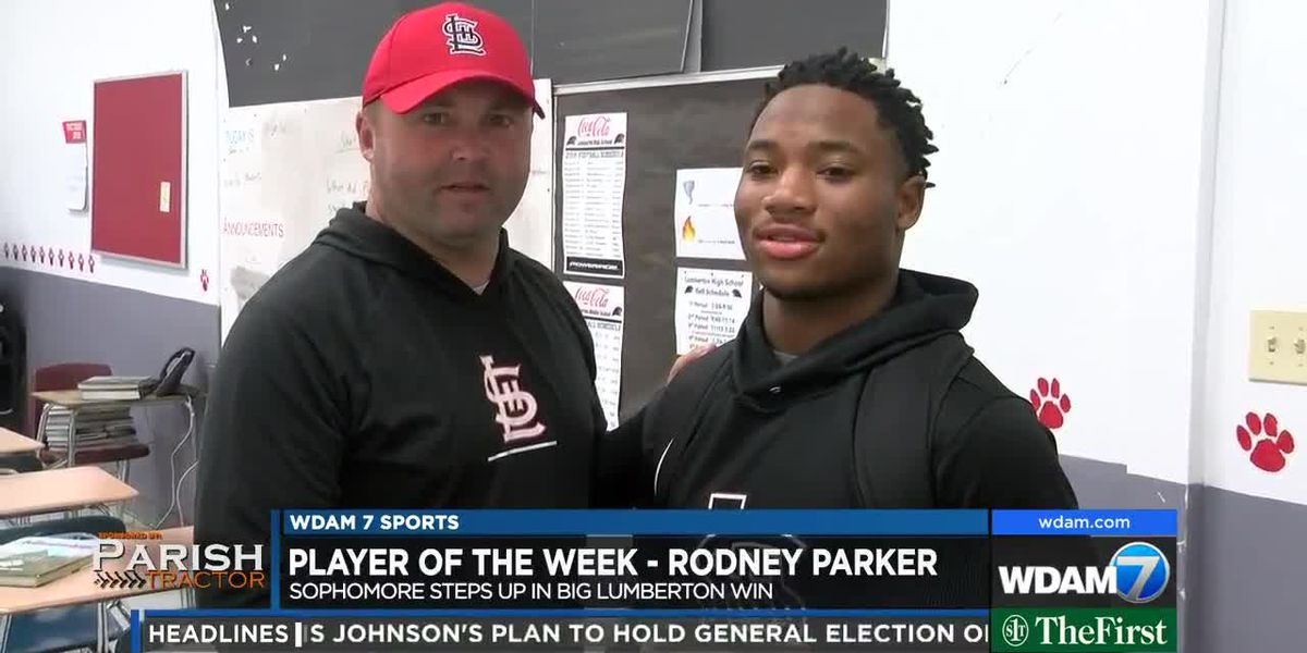 Player of the Week - Lumberton's Rodney Parker