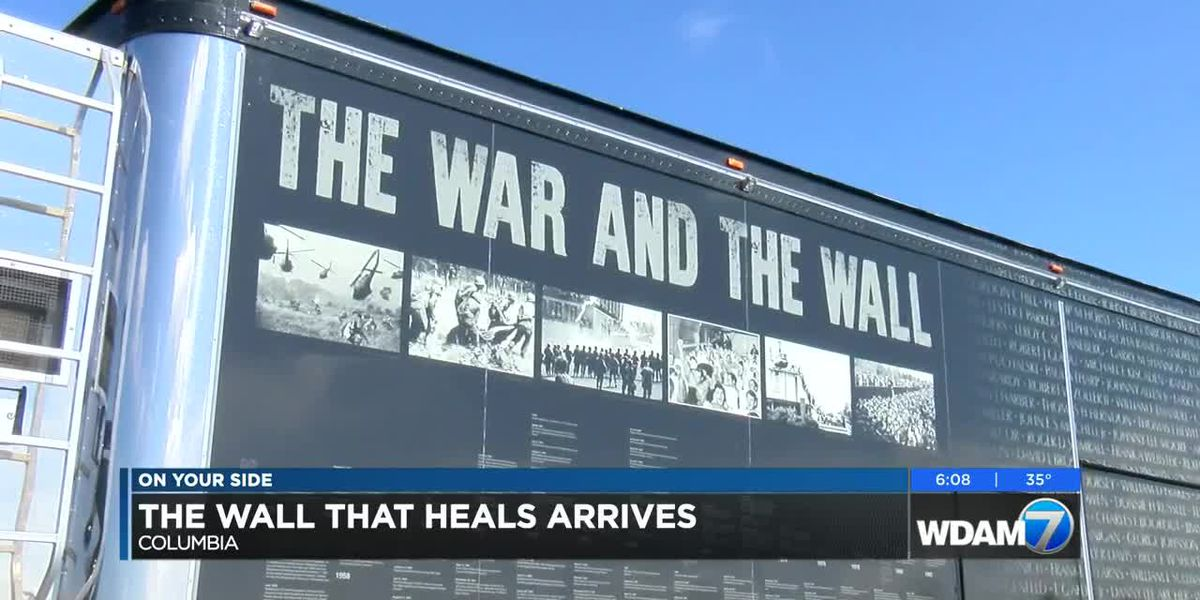 The Wall That Heals makes stop in Columbia