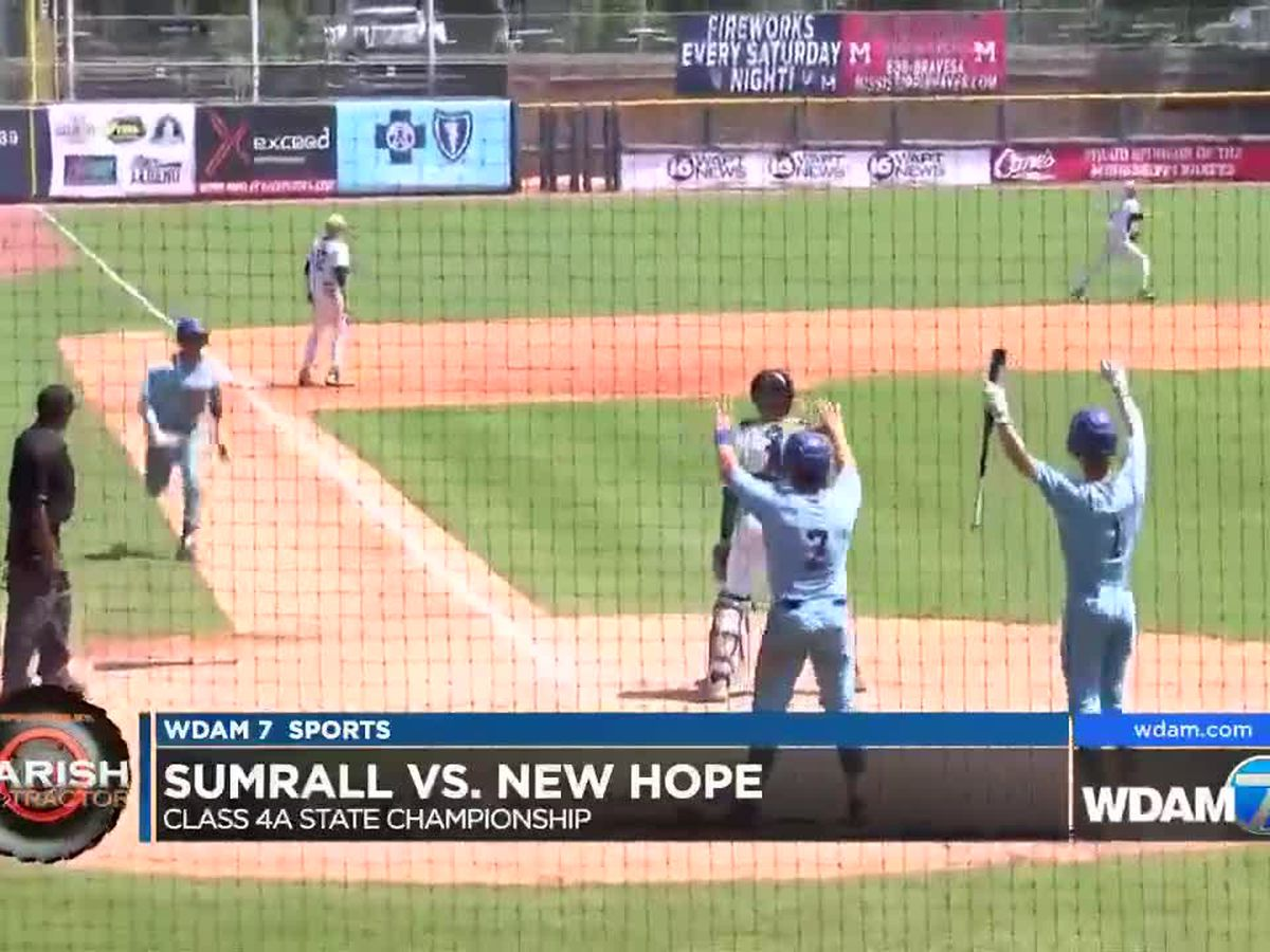 Sumrall falls in game 1 of 4A state title series