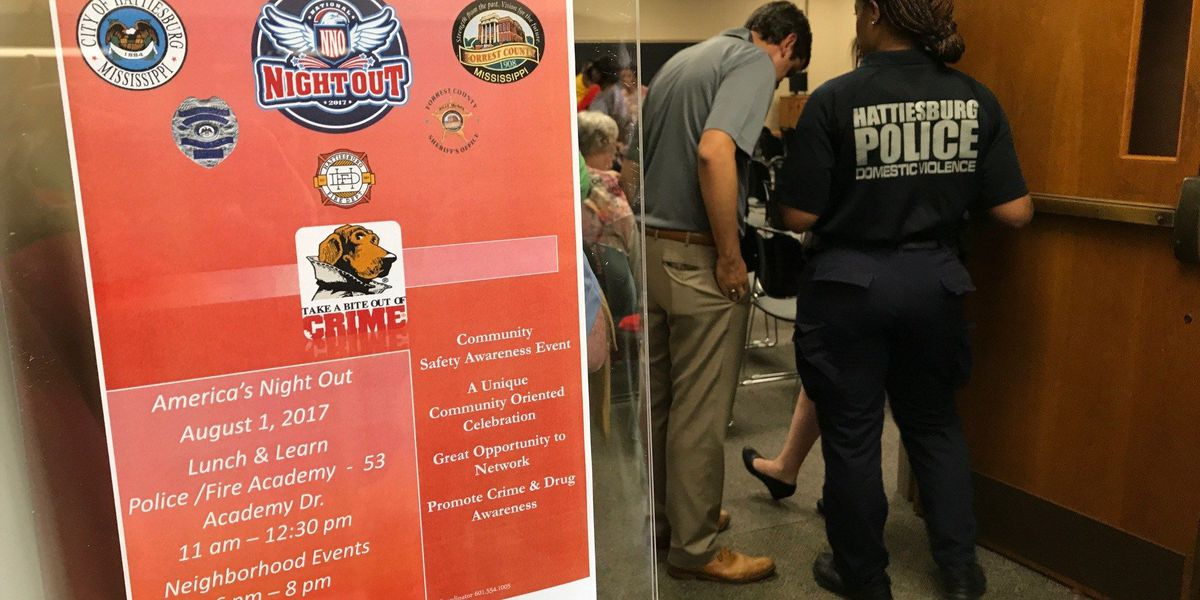 Luncheon held for seniors ahead of National Night Out events