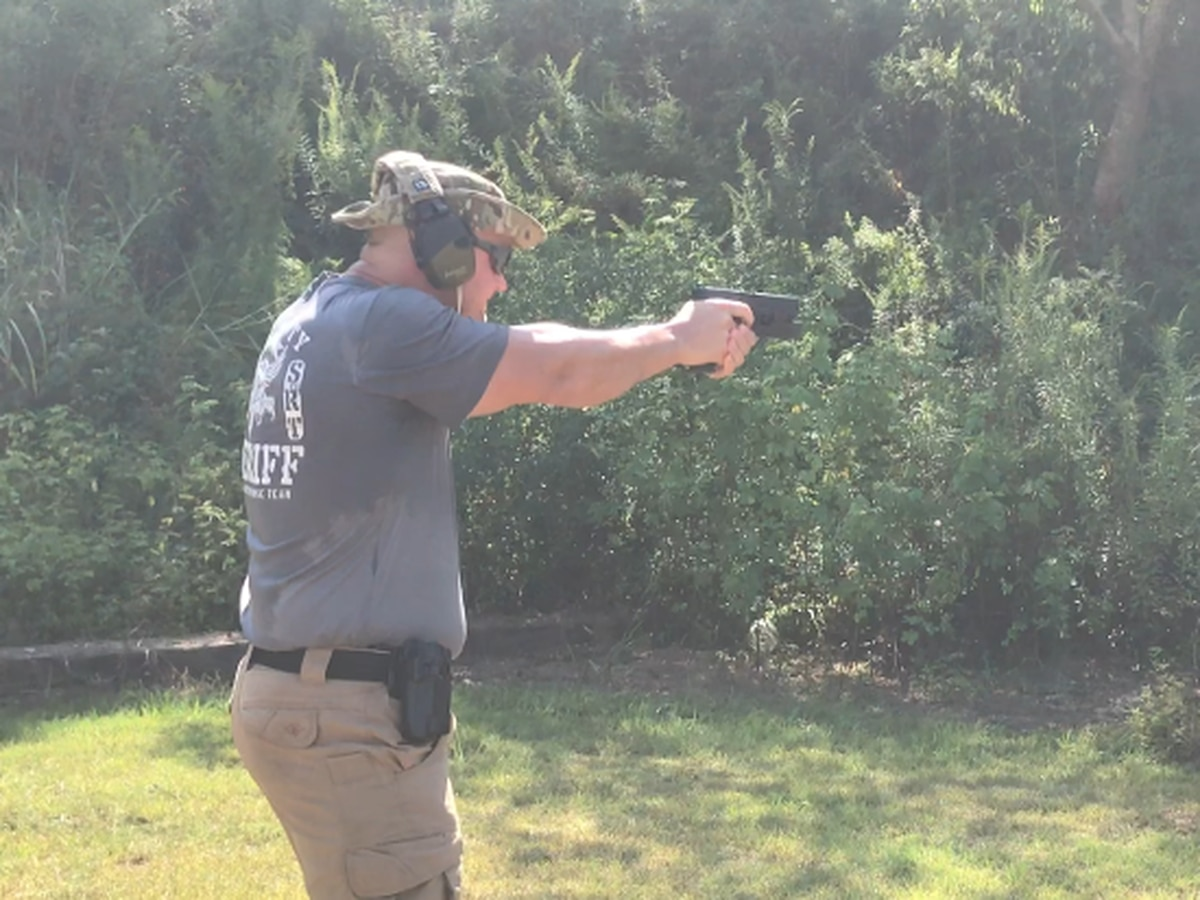 Lamar Co. Sheriff's Dept. undergoes advanced handgun training
