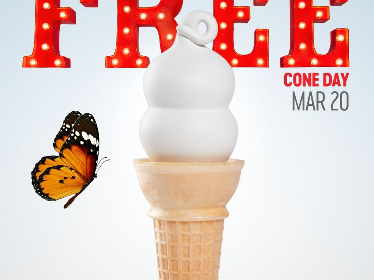Dairy Queen offering free ice cream to celebrate first day of spring