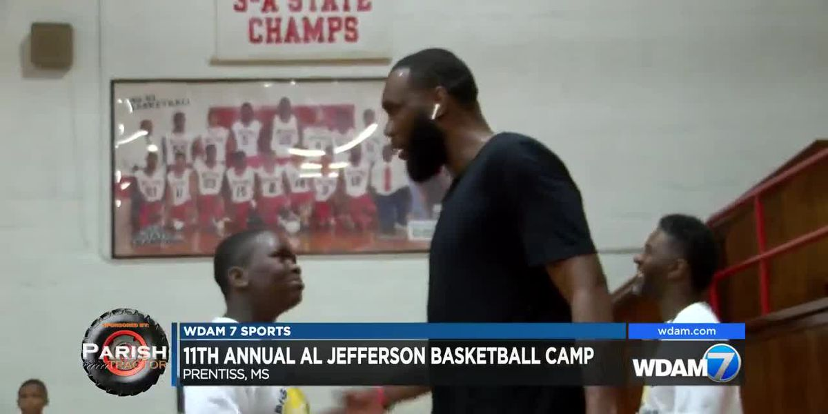 Prentiss native and former NBA player Al Jefferson hosts 11th annual free basketball camp