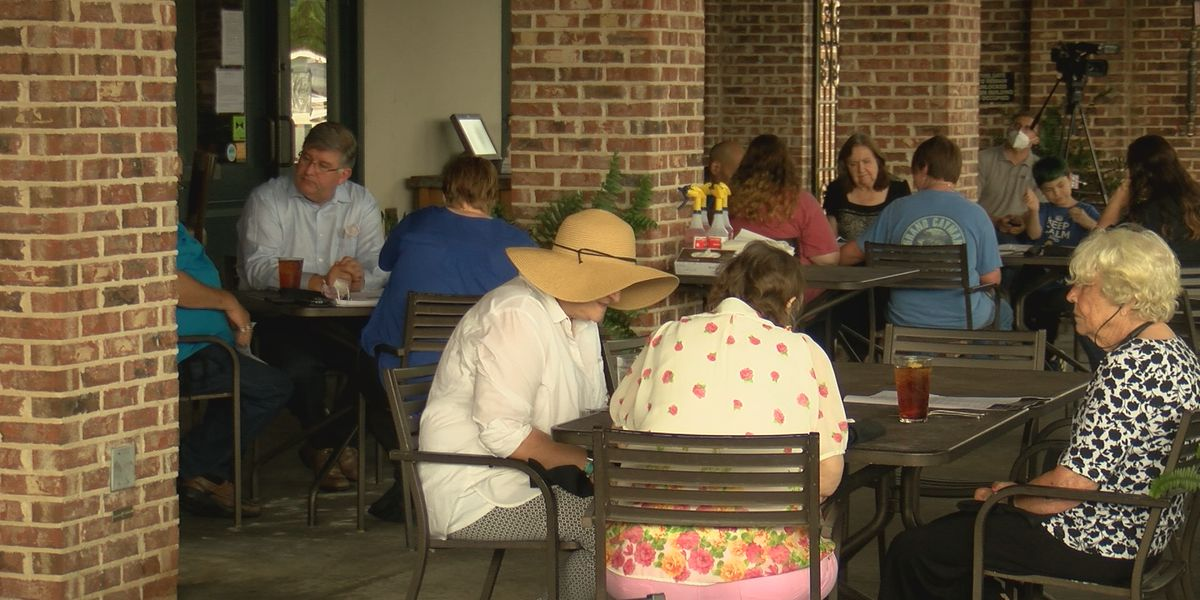 Outdoor dining reopens in Hattiesburg