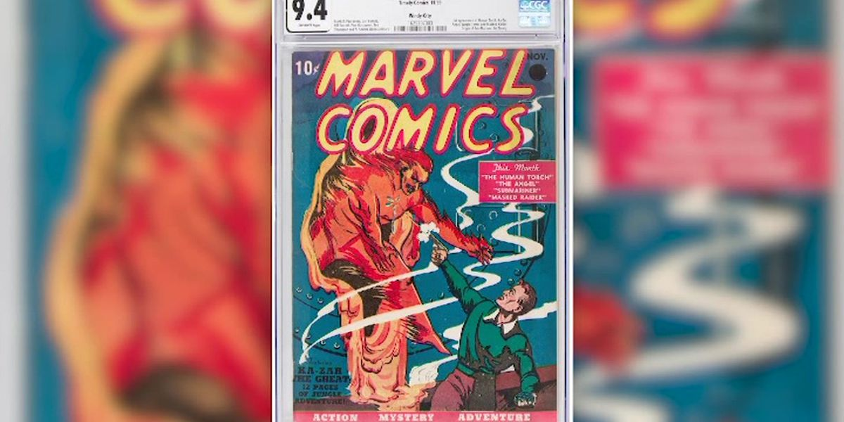 First Marvel Comics issue sells in Texas for $1.26 million