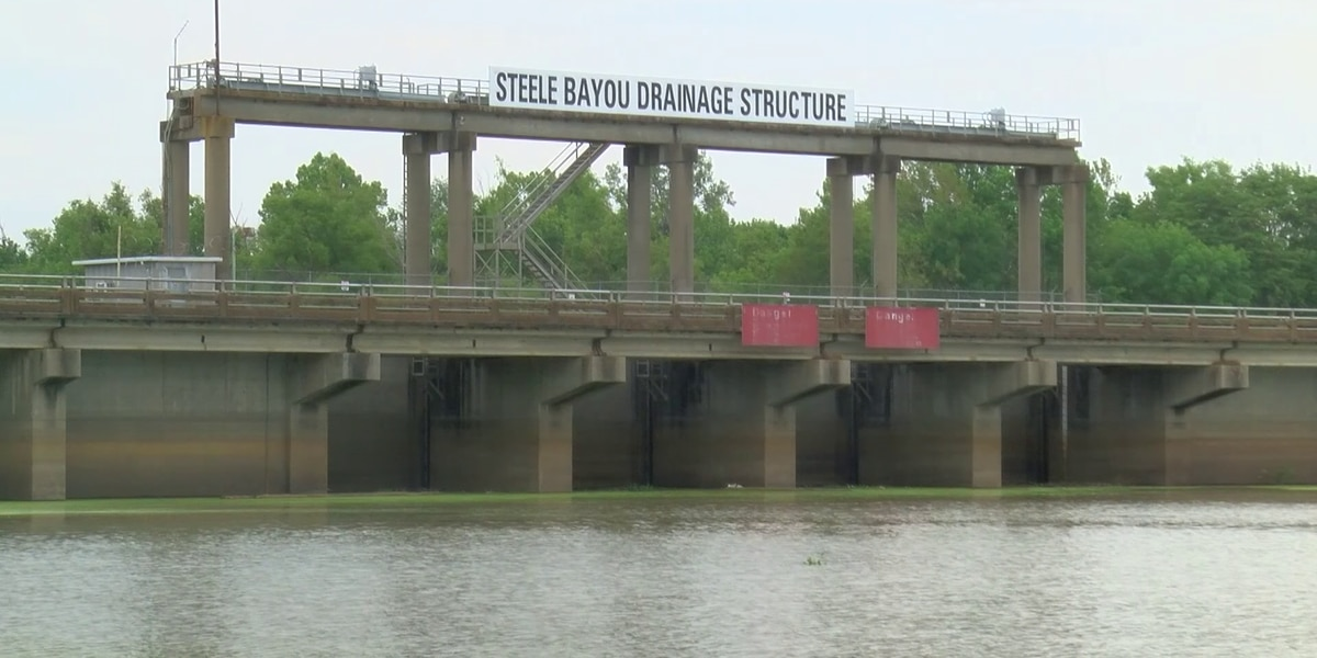 U.S. Corps of Engineers open Steele Bayou gates