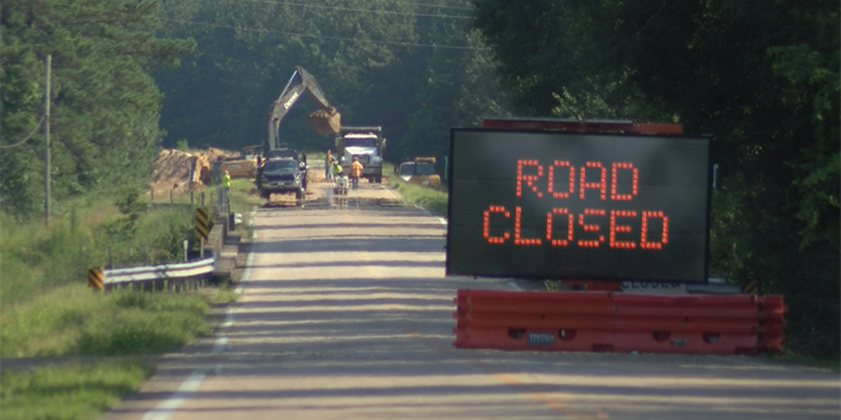Construction begins along Highway 589