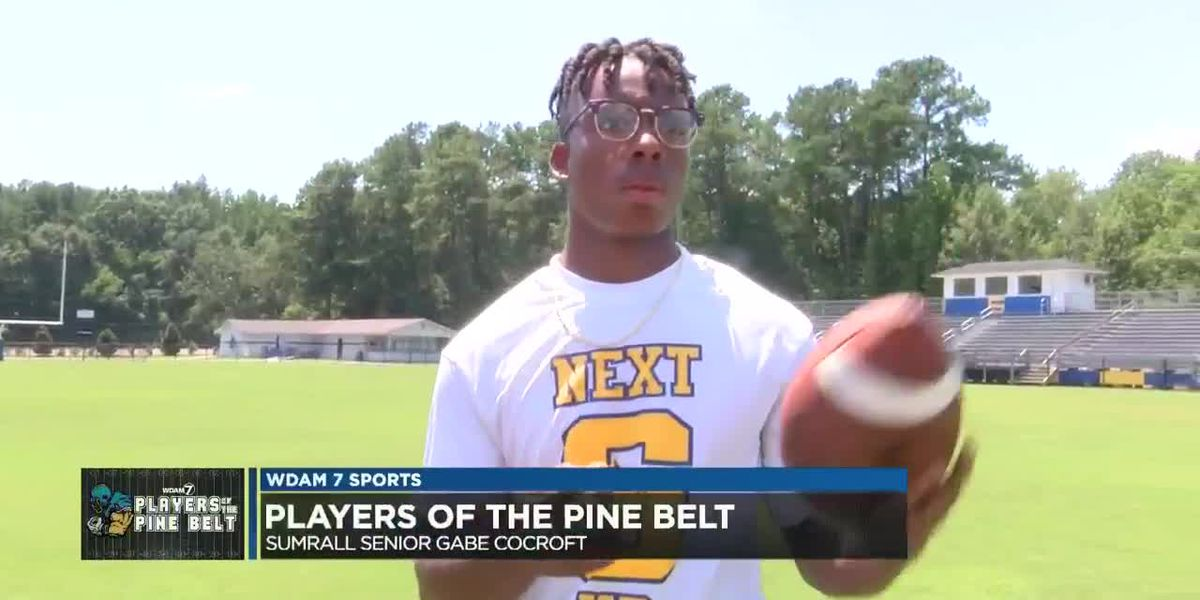 Players of the Pine Belt: Sumrall's Gabe Cocroft