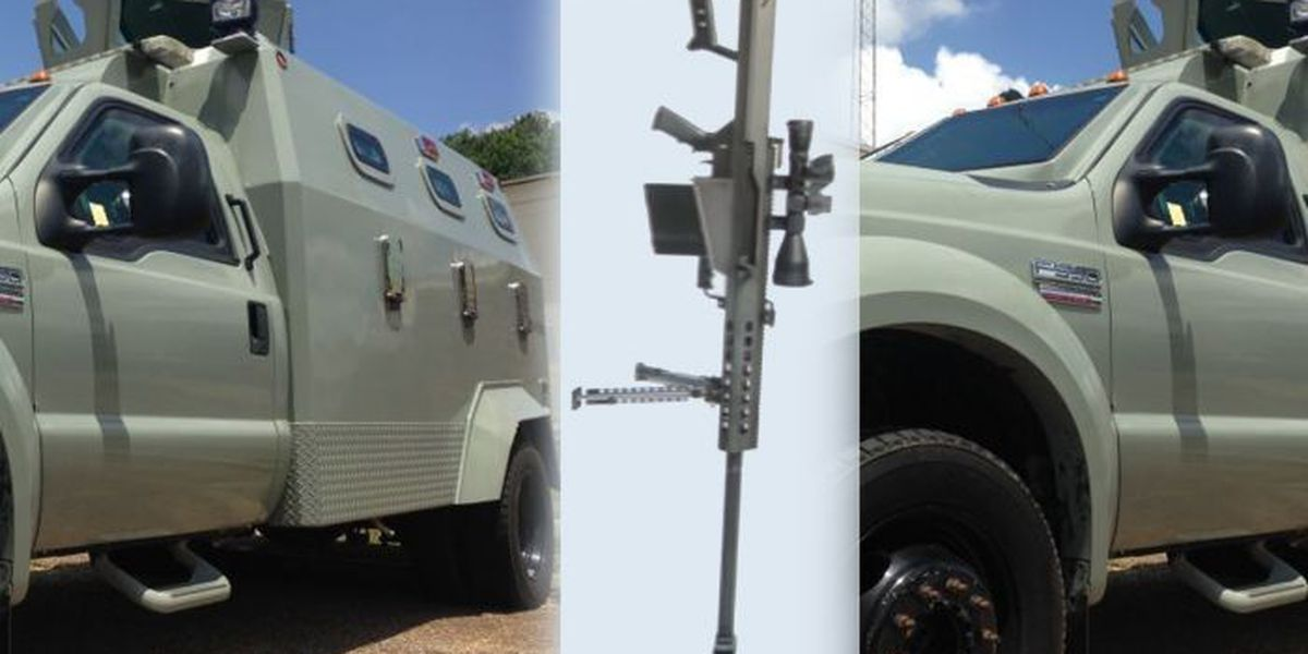 JCSD says new military equipment needed for crime-fighting