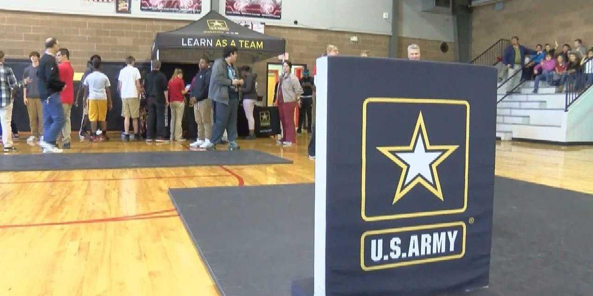 "U.S. Army's ""High School Challenge"" event held at Lumberton High School"