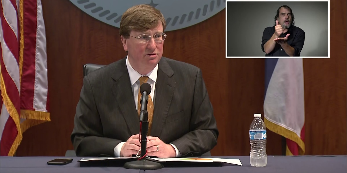 WATCH: Gov. Reeves discusses COVID-19 response