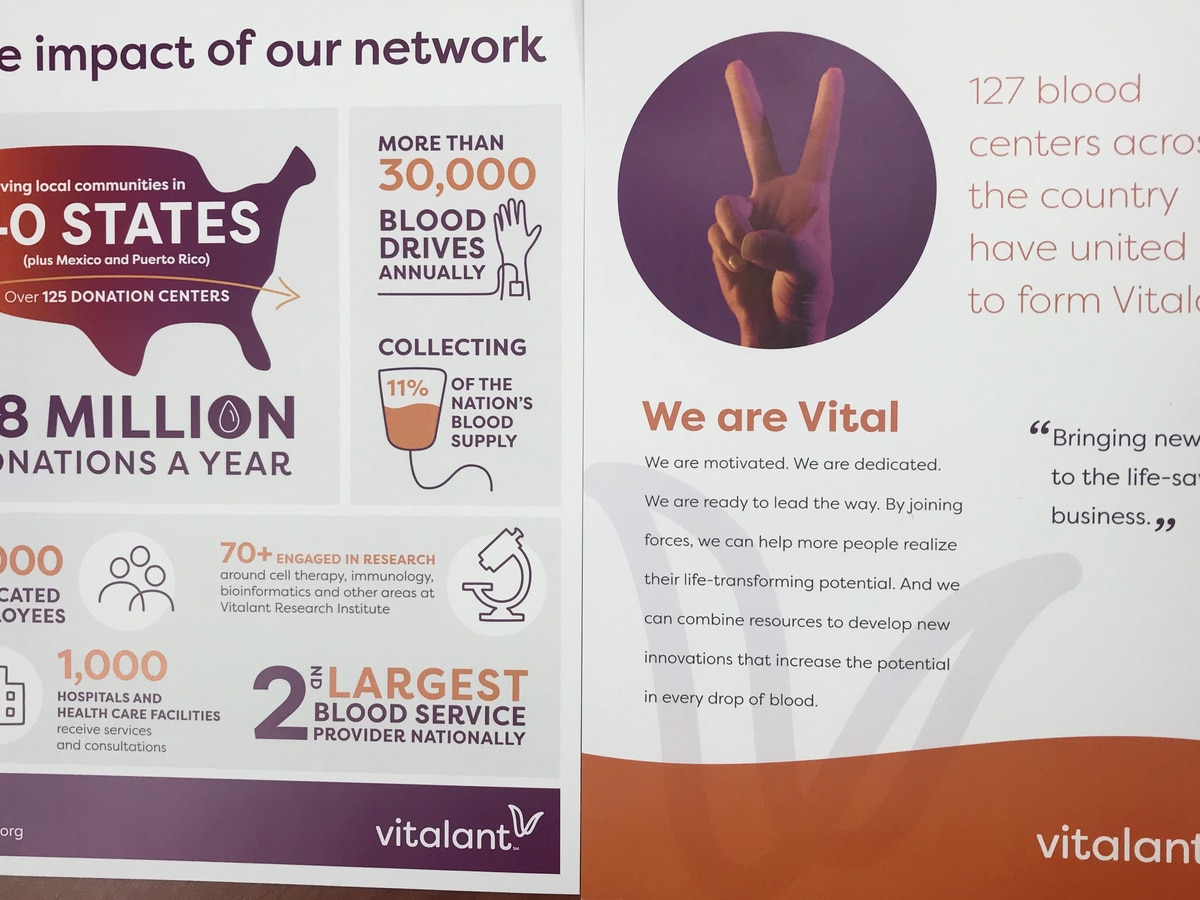 United Blood Services becomes Vitalant