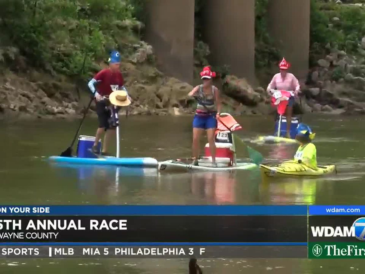5th annual Great Chickasawhay Race held in Wayne County