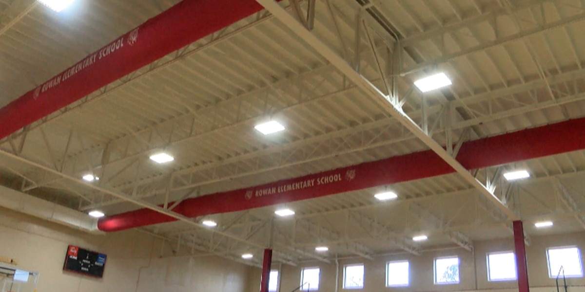 Rowan Elementary gym revitalized