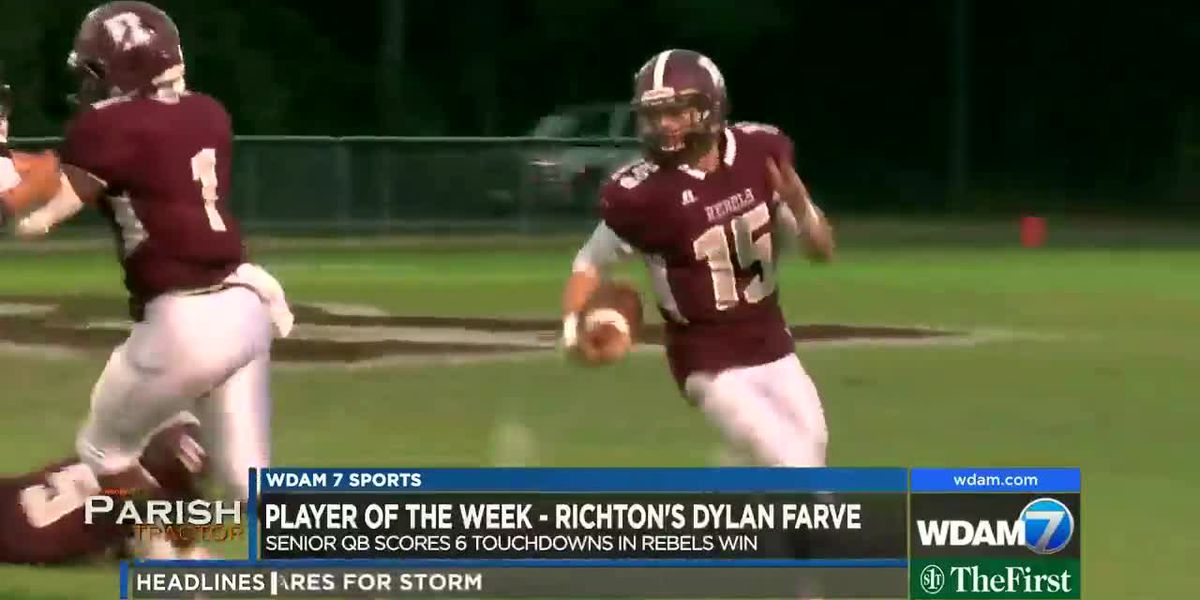 Player of the Week - Richton's Dylan Farve