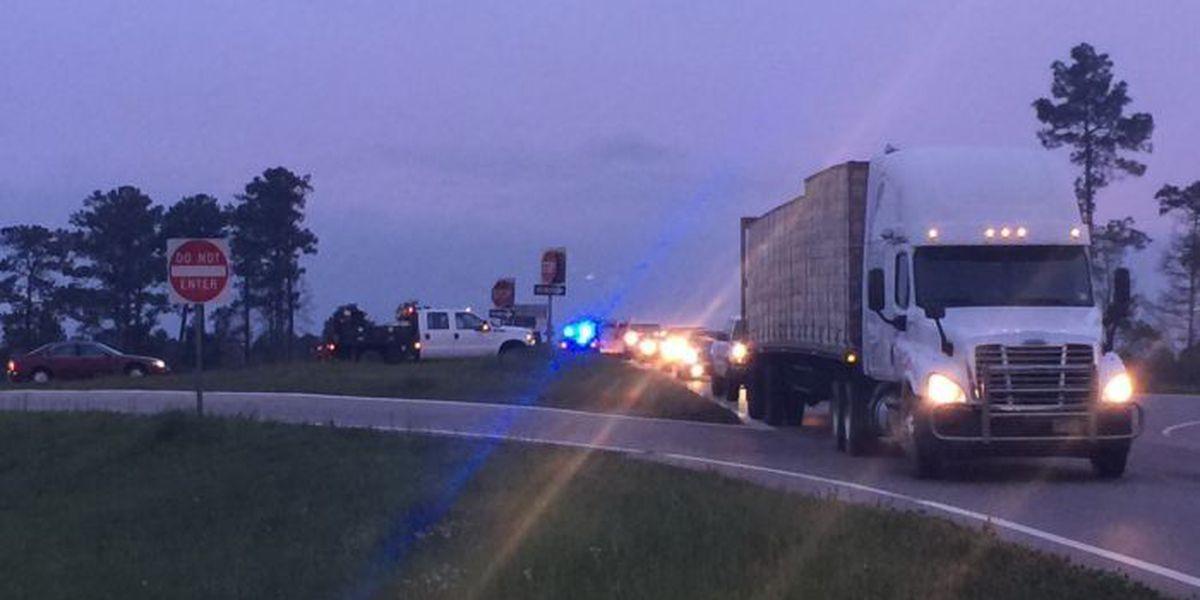 Pedestrian struck by school bus on I-59 overpass identified