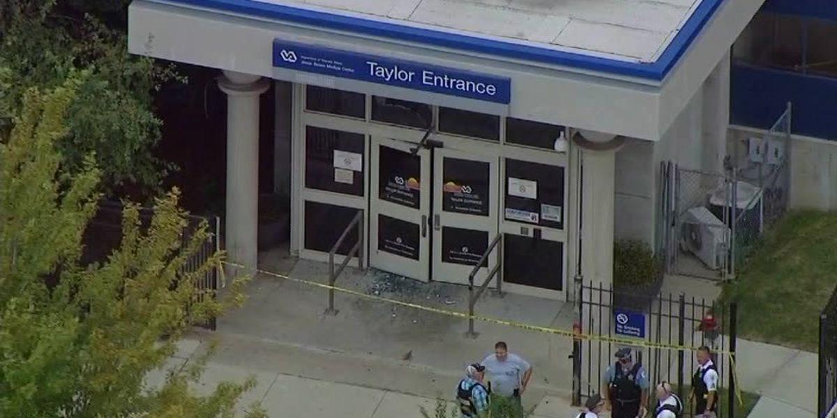 No one hurt, man arrested after gunfire at Chicago hospital