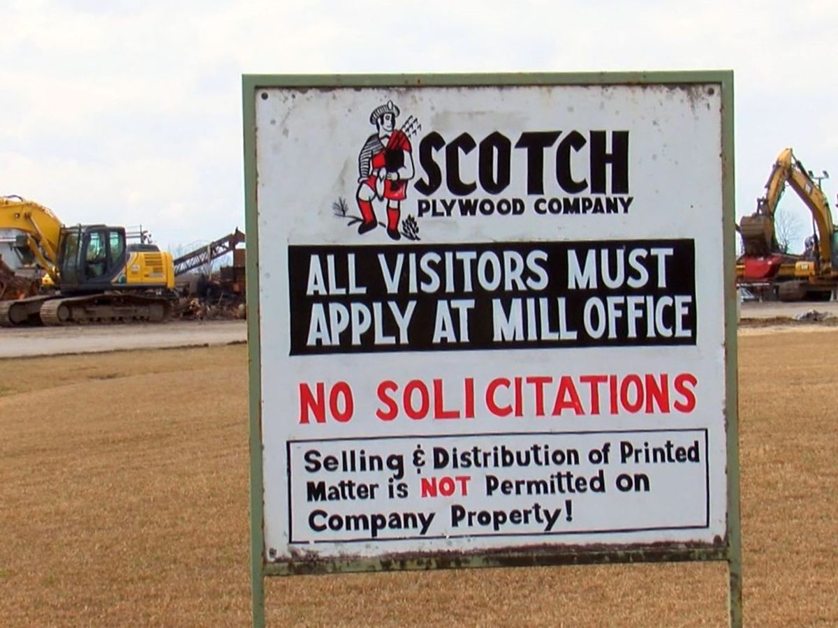 Scotch Plywood Plant in Waynesboro to be rebuilt after fire