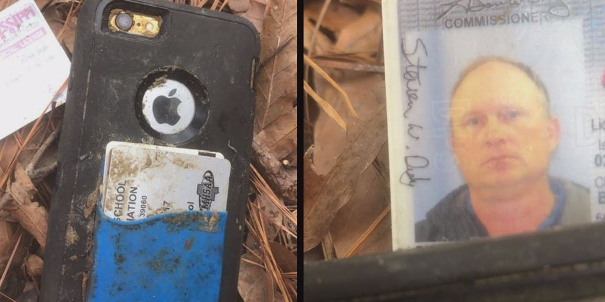 A man's phone has been returned after he dropped it in the Reservoir 3 years ago