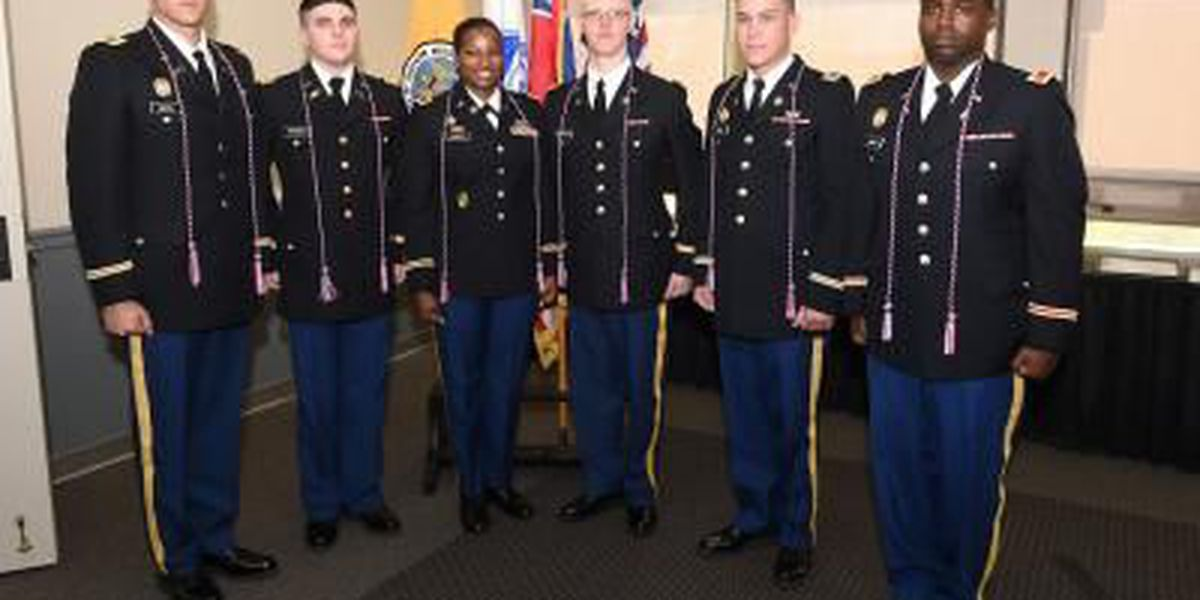 ROTC graduates receive officer commissions in spring 2015 ceremony