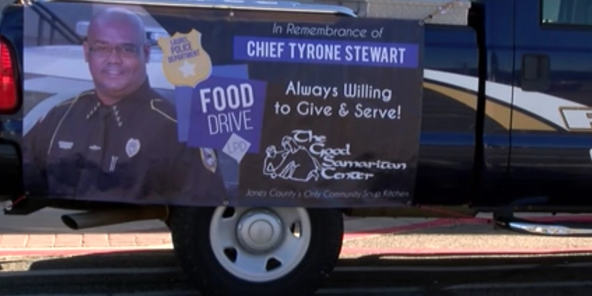 Laurel police host 'Stuff the Truck' fall food drive for Good Samaritan Center