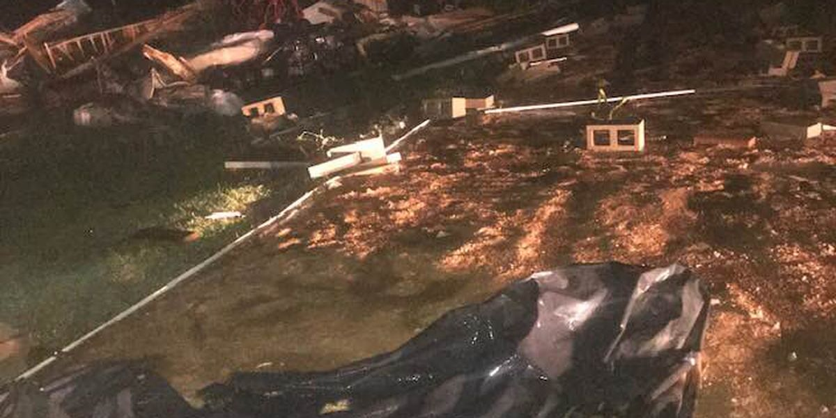 NWS confirms EF-1 tornado touched down Sunday night in Wilkinson County