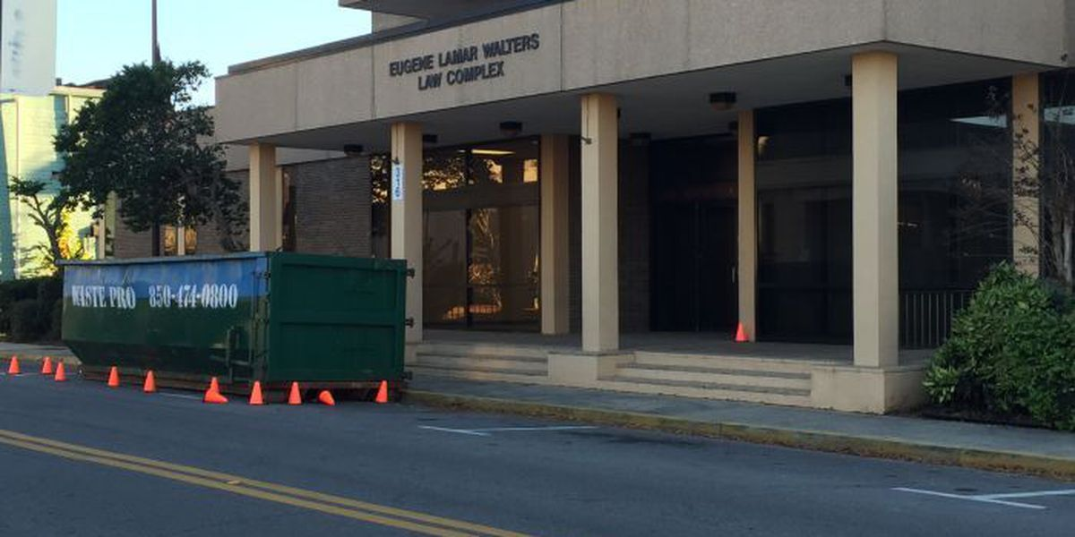 Deadly construction accident at former Forrest County jail