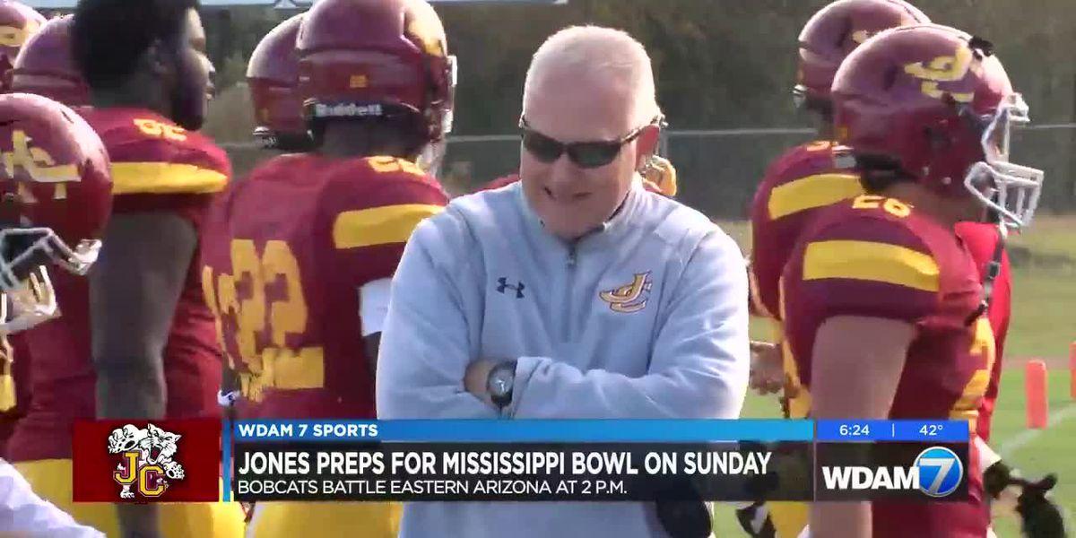 Jones preps for Sunday's Mississippi Bowl